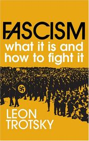Cover of: Fascism: what it is and how to fight it