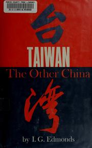 Cover of: Taiwan | I. G. Edmonds
