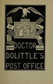 Cover of: Doctor Dolittle's post office | Hugh Lofting