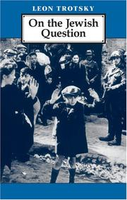 Cover of: On Jewish Question | Leon Trotsky