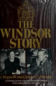 Cover of: The Windsor story | Joseph Bryan