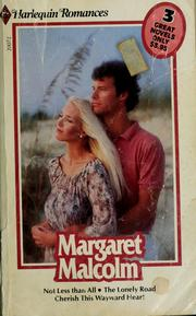 Cover of: The third anthology of 3 Harlequin romances by Margaret Malcolm | Margaret Malcolm