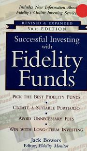 Cover of: Successful investing with Fidelity Funds | Jack Bowers