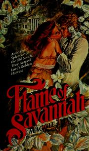 Cover of: Flame of Savannah | Maggie Lyons