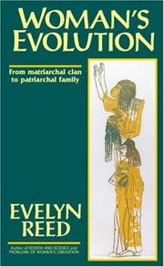 Cover of: Woman's Evolution from Matriarchal Clan to Patriarchal Family