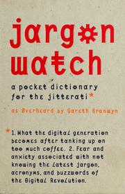 Cover of: Jargon watch | Gareth Branwyn