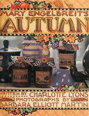Cover of: Mary Engelbreit's autumn craft book by Mary Engelbreit