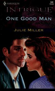 One Good Man (Intrigue, 588)
