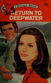 Cover of: Return to Deepwater by Lucy Gillen