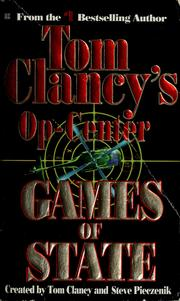 Cover of: Tom Clancy's Op-Center: games of state