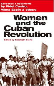 Cover of: Women and the Cuban revolution
