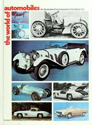 Cover of: The World of automobiles by Ward, Ian