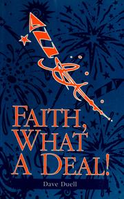 Cover of: Faith