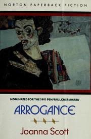 Cover of: Arrogance | Joanna Scott