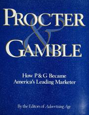 Cover of: Procter and Gamble | W. Procter
