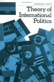 Cover of: Theory of international politics | Kenneth Neal Waltz