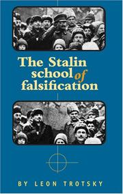 Cover of: The Stalin school of falsification | Leon Trotsky