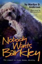 Cover of: Nobody wants Barkley | Marilyn D. Anderson