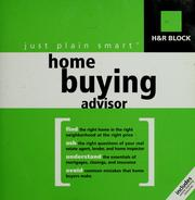 Cover of: H & R Block just plain smart home buying advisor | H & R Block