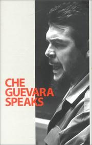 Cover of: Che Guevara speaks