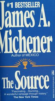 Cover of: The source by James A. Michener