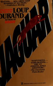 Cover of: Jaguar by Loup Durand