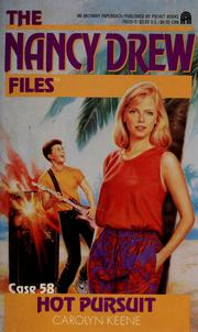 Cover of: Hot pursuit | Carolyn Keene
