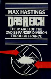 Cover of: Das Reich by Max Hastings