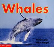 Cover of: Whales | Melvin Berger