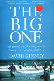 Cover of: The big one | David Kinney