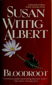 Cover of: Bloodroot | Susan Wittig Albert