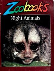 Cover of: Night animals by Wildlife Education, Ltd
