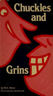 Cover of: Chuckles and grins | W. C. West