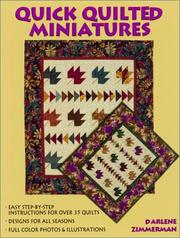 Cover of: Quick Quilted Miniatures