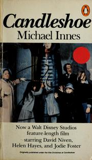 Cover of: Candleshoe | Michael Innes
