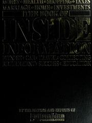 Cover of: The Book of inside information |