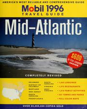 Cover of: 1996 Mobil travel guide, Mid-Atlantic | Mobil Oil Corporation