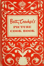 Cover of: Betty Crocker's picture cook book | Betty Crocker