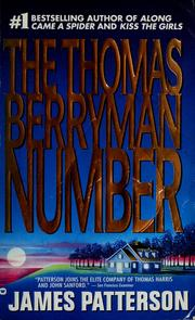 Cover of: The Thomas Berryman number by James Patterson