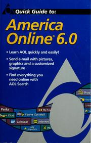 Cover of: Quick guide to America Online 6.0 | Judy Karpinski