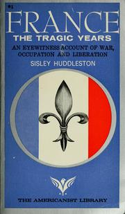 Cover of: France | Sisley Huddleston
