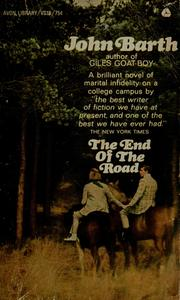 Cover of: The end of the road | John Barth