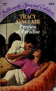 Cover of: Preview Of Paradise (Silhouette Special Edition) | Tracy Sinclair