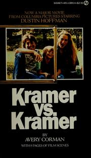 Cover of: Kramer versus Kramer by Avery Corman