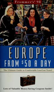 Cover of: Frommer's '98 Europe from $50 a day by John Bozman