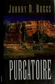 Cover of: Purgatoire | Johnny D. Boggs