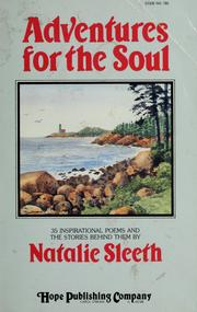 Cover of: Adventures for the soul | Natalie Sleeth