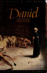Cover of: Daniel by Charles R. Swindoll