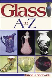 Cover of: Glass A to Z