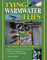 Cover of: Tying warmwater flies